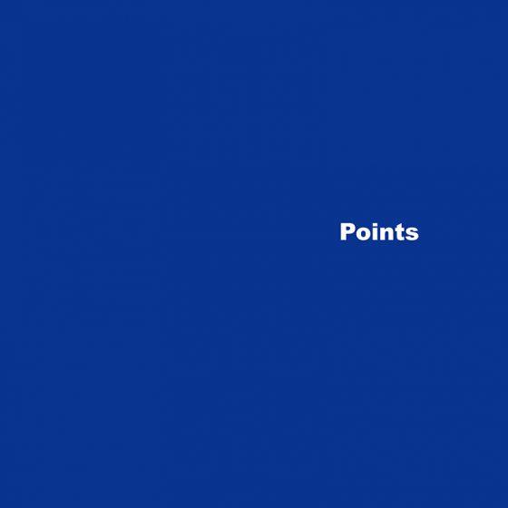 【 ・・・・・・・・・】 ラストアルバム『Points』、7インチレコード『ダンスミュージック』を同時リリース!